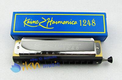 High Quality 12 Hole 48 Tone Chromatic Harmonica/ Chromonica Chrome M401 on Rummage