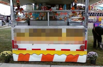 Used Food Concession Trailer With Ford E-350 Box Truck Mobile Food Unit For Sa