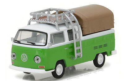 Greenlight 1 64 Club V Dub 5 1971 Volkswagen Type 2 Double Cab Pick Up 29870 C