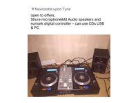 DJ Controller Numark CDJS/USB/PC/AUX