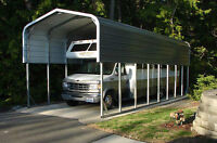 Metal Carports - RV / Boat Cover - Portable