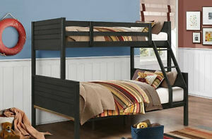 Double Single bunk bed frame, 3 styles to choose from, NEW