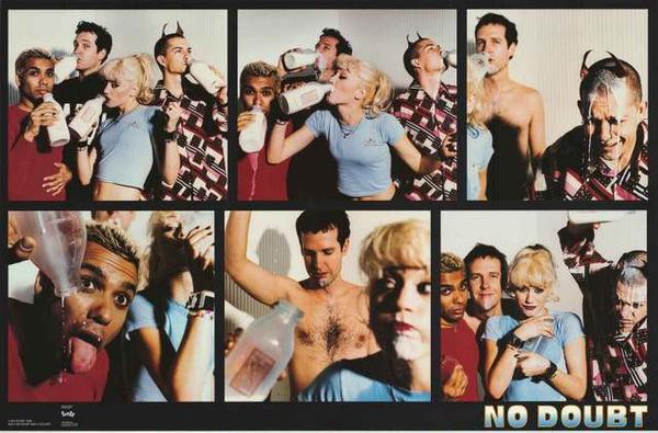 No Doubt 1996 Band Portrait Poster 22x34