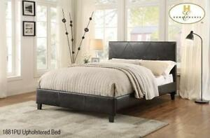 QUEEN BED - BUY KING, QUEEN AND DOUBLE SIZED PLATFORM BEDS  (MA94)