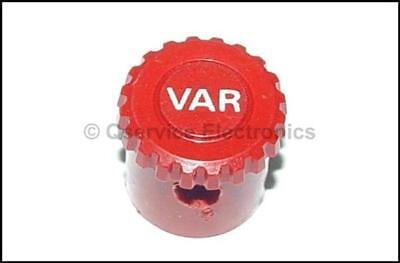 1 Pcs Tektronix 366-1857-00 Knob Red Marked Var 2335 2336 2337 Oscilloscopes
