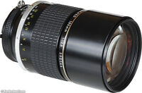 Nikon 180mm f2.8, ED, ai-s, Manual focus lens. A CLASSIC !!!