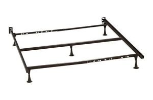 Mattress Metal Bed Frame with Center Metal Support