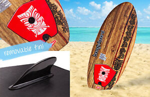 Kids-Learn-To-Surf-Ripster-32-Surfboard-Boogie-Board-Removable-Fin-Nipper-FUN