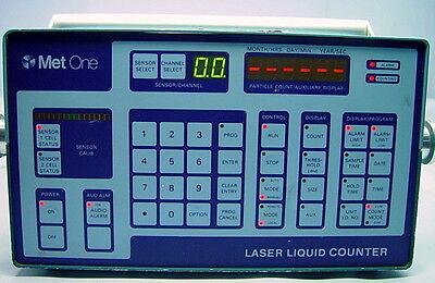 Met One 233 Dual Sensor Laser Liquid Particle Counter 115v 60hz