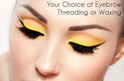 Eyebrow, Threading and Waxing