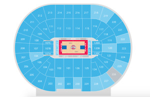 Pistons vs. Knicks Basketball Game Tickets