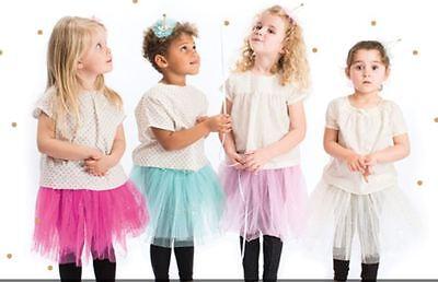 Tutu mit Glitzer - Rico Design Gr.XS -Tanzen, Kostüm Kinder Tutu Einheitsgröße