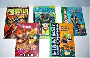 Mangas Gravité zéro Naruto Passepeur  Kid Paddle  3$ +