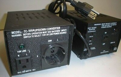 110vac - 220vac - 500w Step Updown Grounded Transformer For Usa Europe