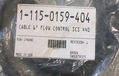 115-0159-404 Raven Cable 6 Flow Control Scs 440