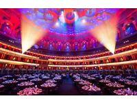 Waiting Staff - rhubarb at The Royal Albert Hall