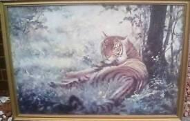 Silvia Duran's 'Disturbed' Tiger.