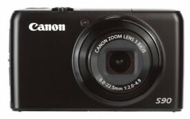 Canon PowerShot S90 Digital Camera - Smaller alternative to SLR