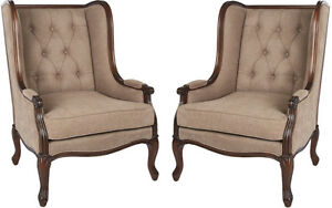 Twin Wingback Chairs from the Lytton Collection London Ontario image 3