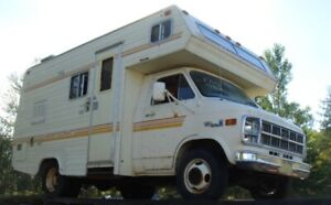Parting Out: 1980 GM Aristocrat Class C RV/Motorhome $20+up