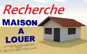 RECHERCHE MAISON A LOUER