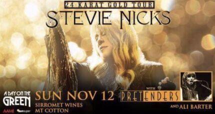 Stevie Nicks  and the Pretenders