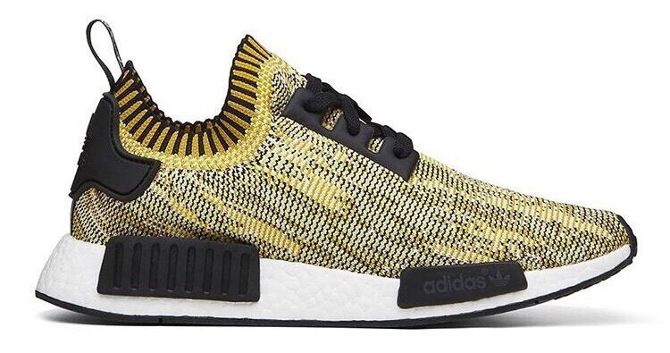 49a762b17 Adidas Originals NMD Runner Primeknit Yellow Size UK 4 4.5 6.5 7 8 9 9.5 10  11 12 Brand New