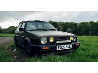Military Mk2 Golf GTI for sale