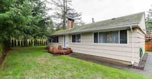 Original White Rock 3 Bedroom 1 Bathroom RANCHER HOME for SALE