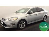£229.47 PER MONTH SILVER 2013 FORD MONDEO 2.0 TITANIUM X BUSINESS DIESEL MANUAL