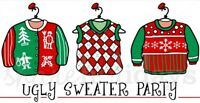 UGLY CHRISTMAS SWEATER SINGLES SOIREE