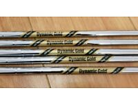 Dynamic Gold Tour Issue Wedge Shafts, Reshaft, Putter grips.