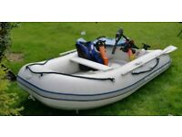 Quicksilver Ribbed boat full set up