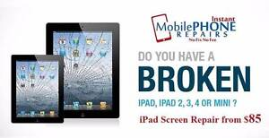 Cheap iPad 2/3/4/mini/Air repair prices starts from $ 85 Raymond Terrace Port Stephens Area Preview