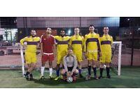 PADDINGTON 3G (RUBBER CRUMB) 5 A-SIDE FOOTBALL LEAGUE £35