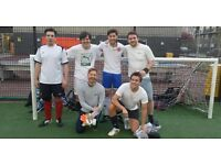 5 A-SIDE FOOTBALL PLAYERS WANTED - HACKNEY 3G - WEEKLY SOCIAL GAMES