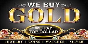 10k gold $15 a gram , 14k $20 a gram  18k $25 a gram , 24k $30