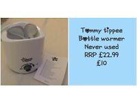 NEW Tommee Tippee Bottle Warmer