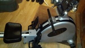 Life gear 30 300 mag air rower rowing machine