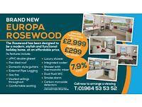Cheap static for sale on Hornsea Leisure Park, 12 month season, Near Bridlington, East Coast