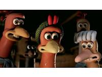 Free 3 chickens