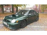 For sale Subaru Impreza WRX STI 2002 OVER 300BHP PX POSSIBLE