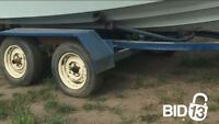 Edson boat & trailer being auctioned off *ASIS*