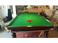 Full dize snooker table