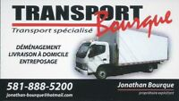 Service de déménagement et transport (moving)