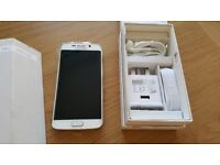 = WITH RECEIPT = SAMSUNG GALAXY S6 Edge 64GB White Pearl Unlocked - MINT Condition FULLY BOXED