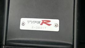 Honda Civic Type R 05 plate