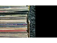 Box of over 100 lps