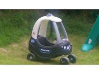 Police little tikes car