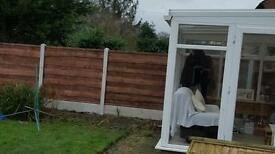 Fence fitting.fence panels.Gates..M60fencing 20miles around manchester